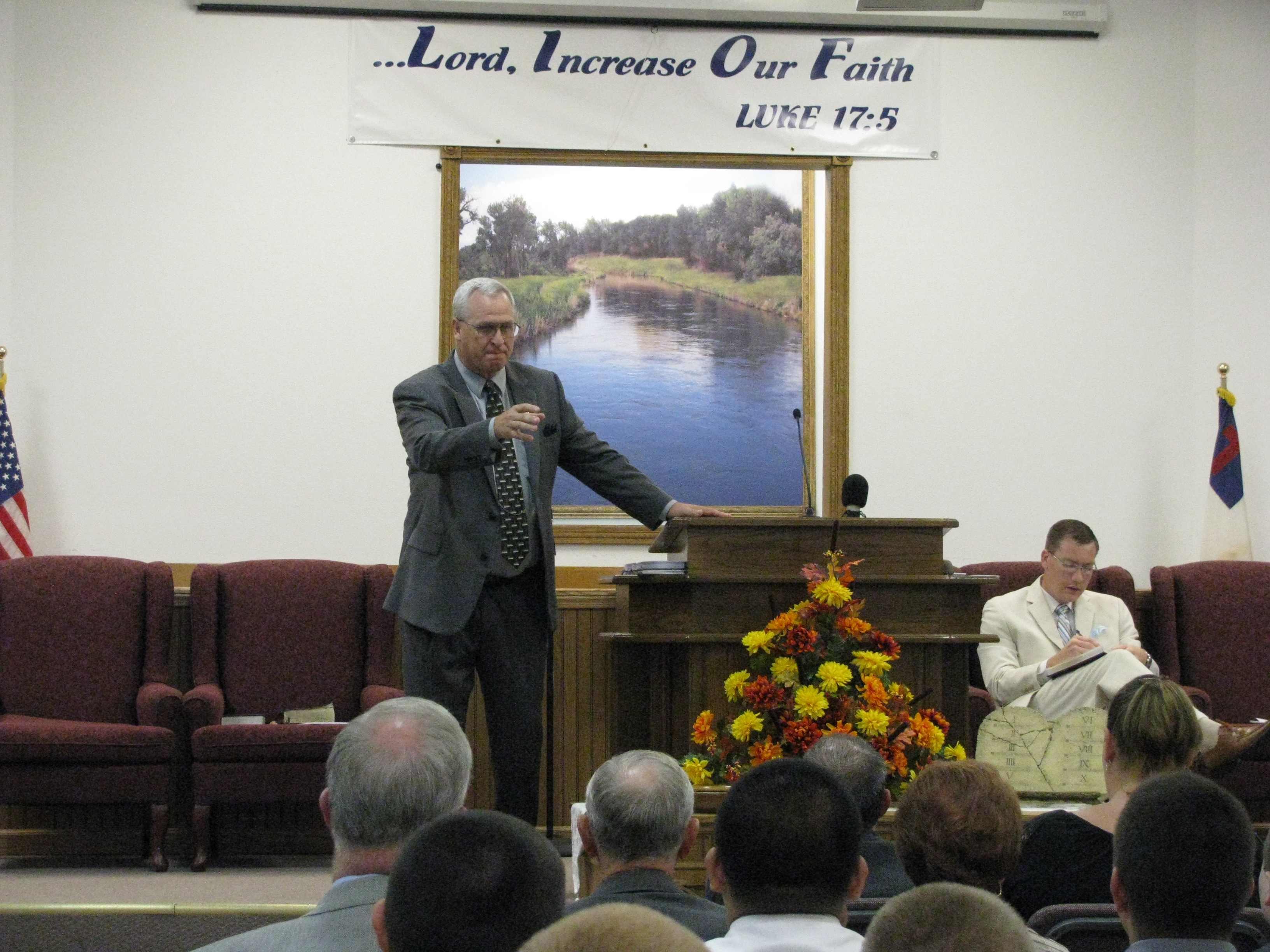 Pastor Dr. George Theroux