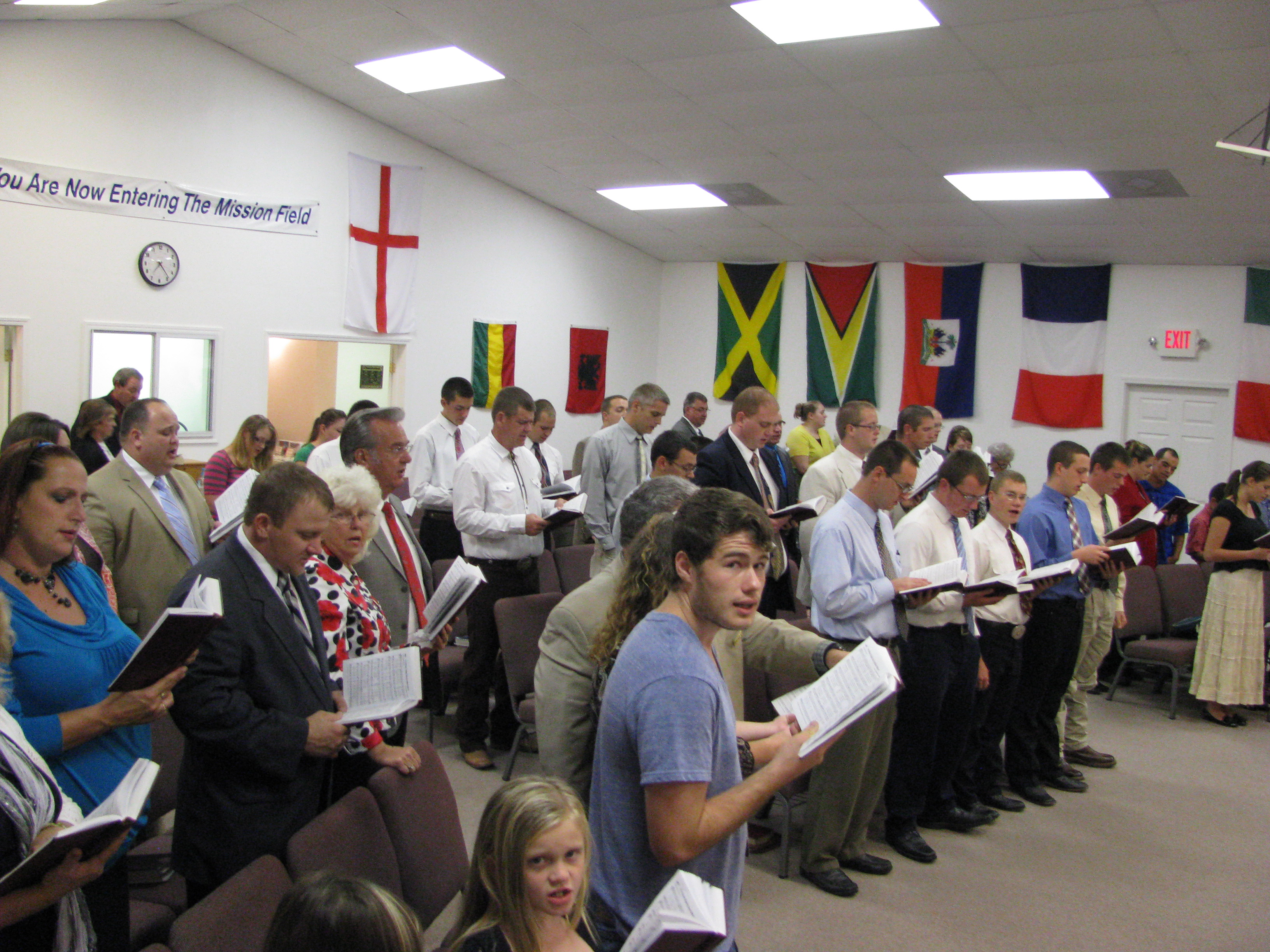 Missions Conference Attendance