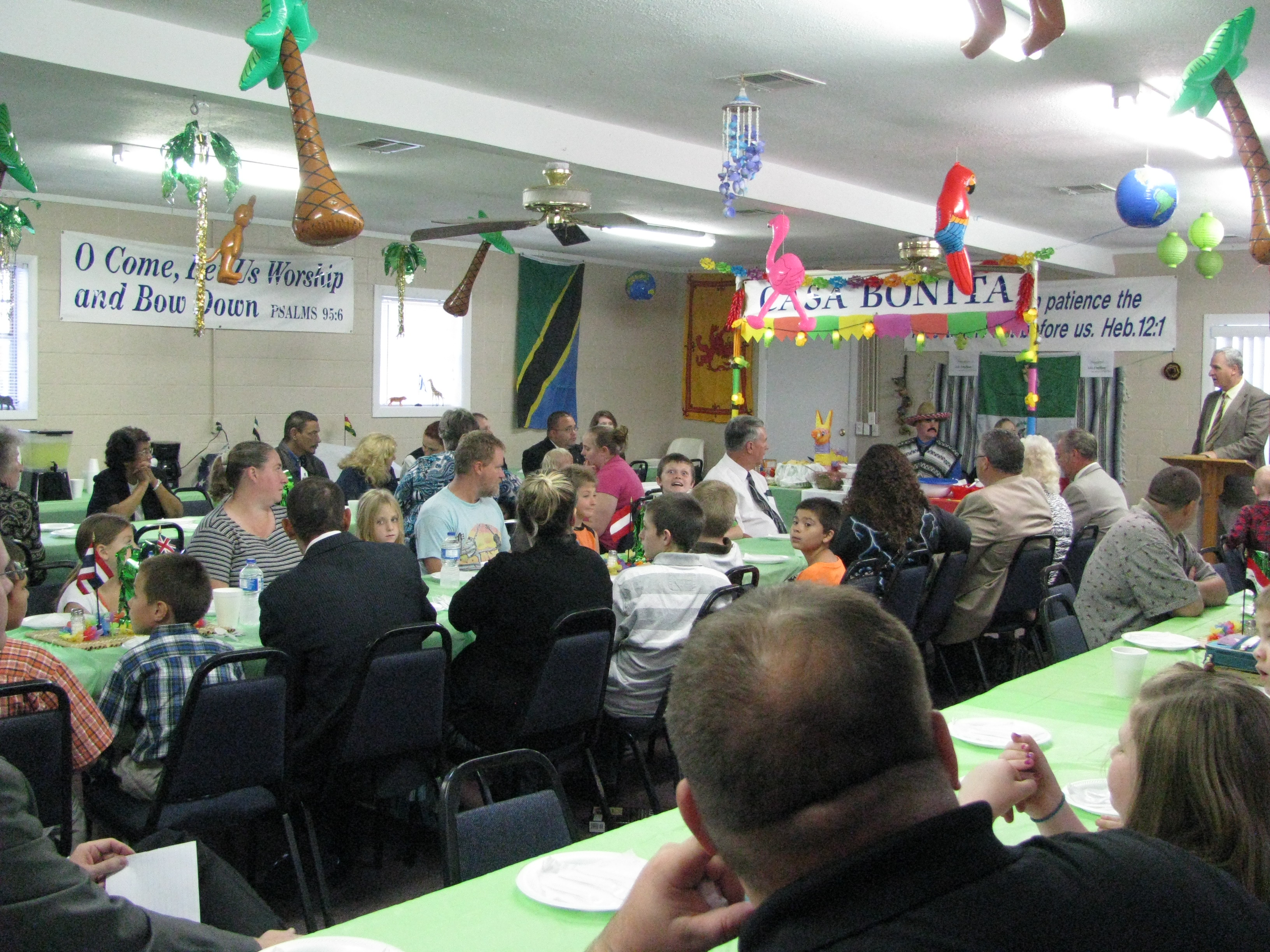 Missions Conference Banquet Attendance
